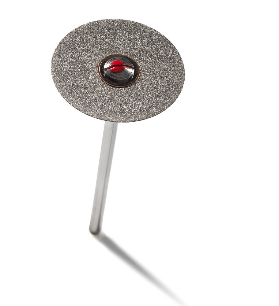 Sintered Diamond Disk 21mm grit 130, ,25mm thick with mandrel