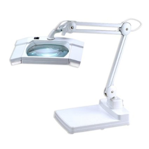 Desk Lamp with Magnifier 5 Diopter 80 LEDS
